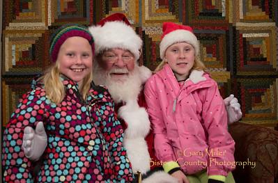 Santa Claus at the Chamber 2012