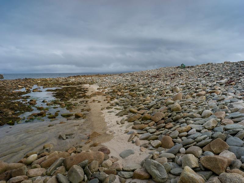 Rocks along the beach, Mullet Peninsula, Binghamstown, Erris, County Mayo, Ireland