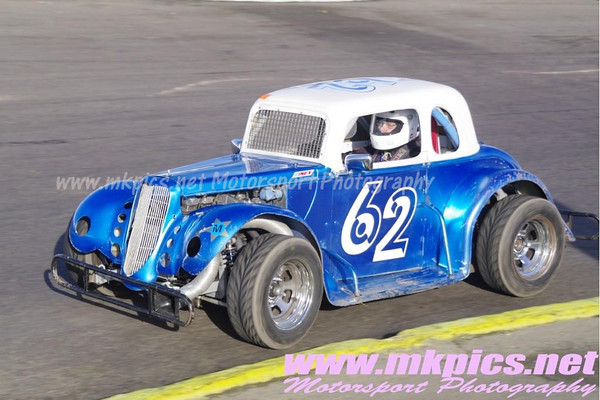 Oval Track Legends, Northampton International Raceway, 11 November 2012