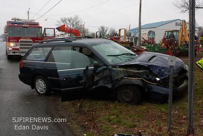 01-17-2012, MVC, Upper Pittsgrove Twp. Salem County, Rt. 40