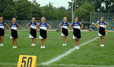 Shelby Lions Football Club - 2006 Freshman Cheer Squad