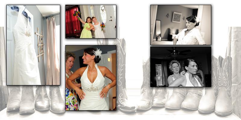 Jenn and Randy wedding album