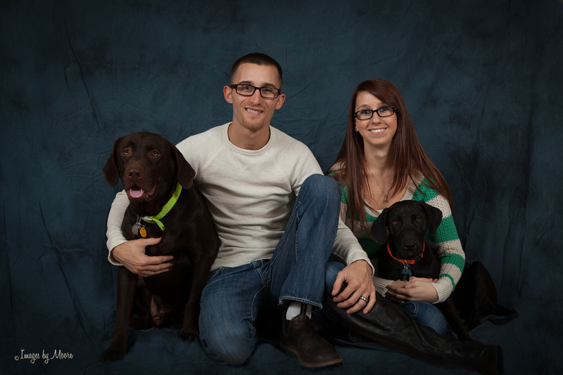 """""""His and Hers"""" Family Portraiture"""