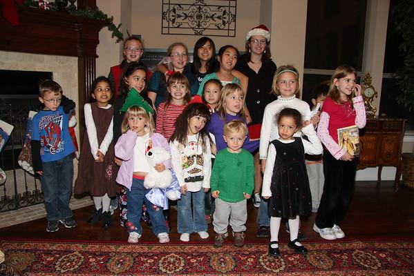 2008 Christmas Caroling