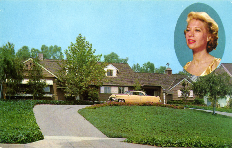 Residence of Dinah Shore