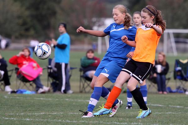 Cheetahs Soccer 2012