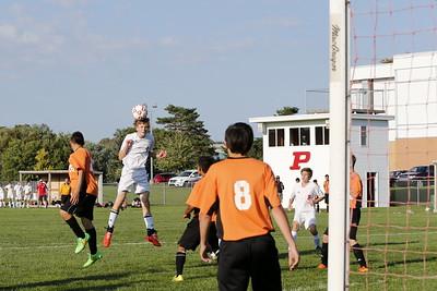 Boys JV Soccer - 9/14/2015 Grant (KK)