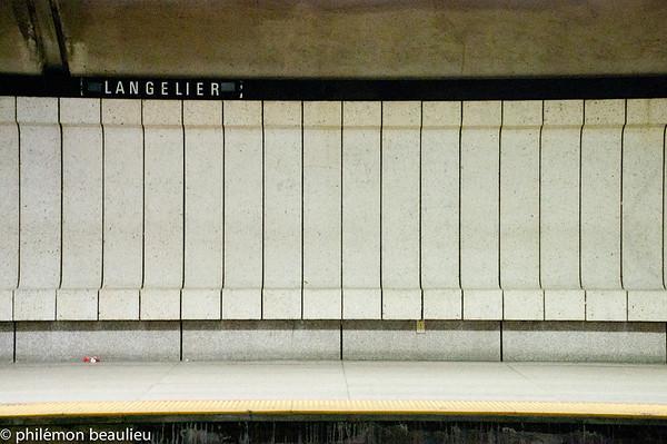 bancs de métro