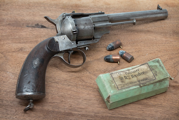 12mm Norwegian Lefaucheux Pinfire Revolver
