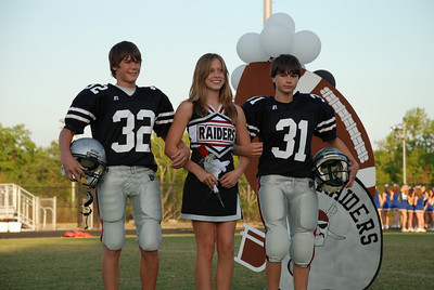 100607 Jr. Raiders Homecoming Ceremony