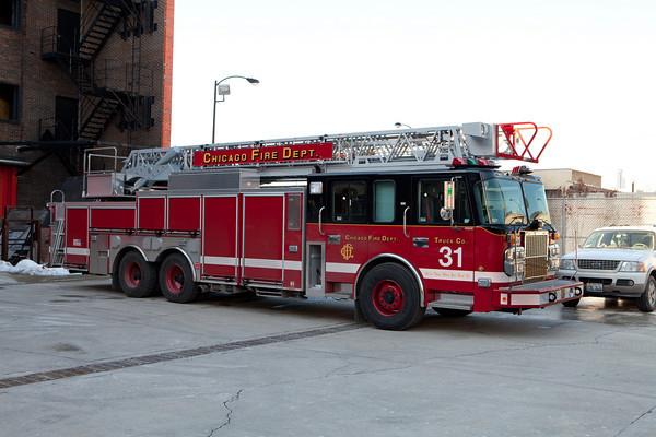 1-19-11  New CFD Truck Company Apparatus