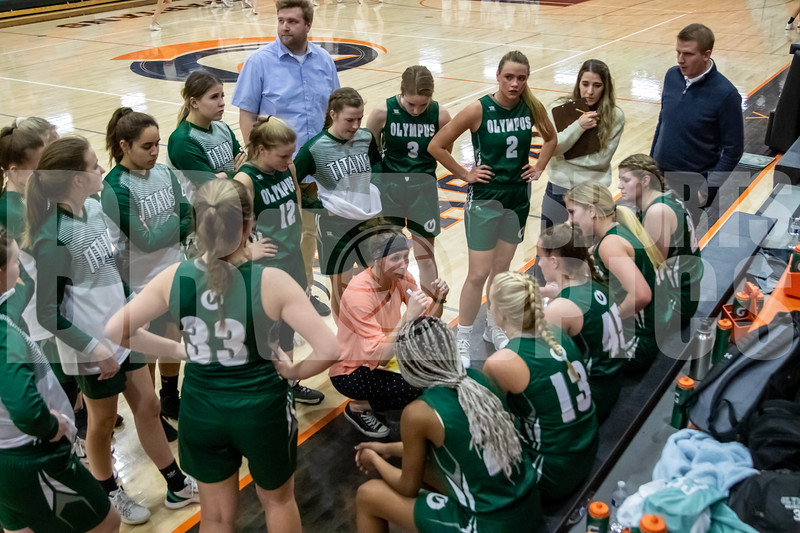 Olympus Girls Basketball, Whitney Hunsaker
