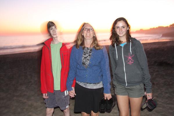 Santa Cruz visit by Alaska Heningers, Oct 29 2011
