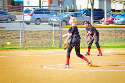 2012-03-14 BHS Softball VS Vance