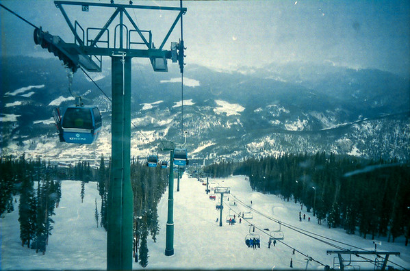 New Years Skiing: 2000/1