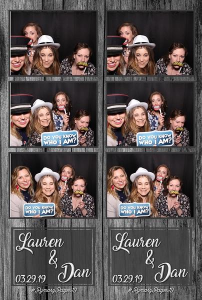 Lauren & Dan's Wedding (03/29/19)
