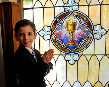 Joaquin Miguel Ruiz First Communion