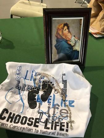 2018 Living Rosary & Celebration of Life