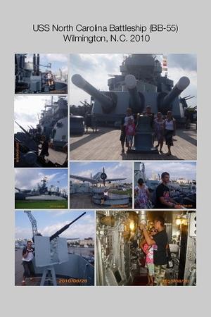 NC, Wilmington - USS North Carolina Battleship