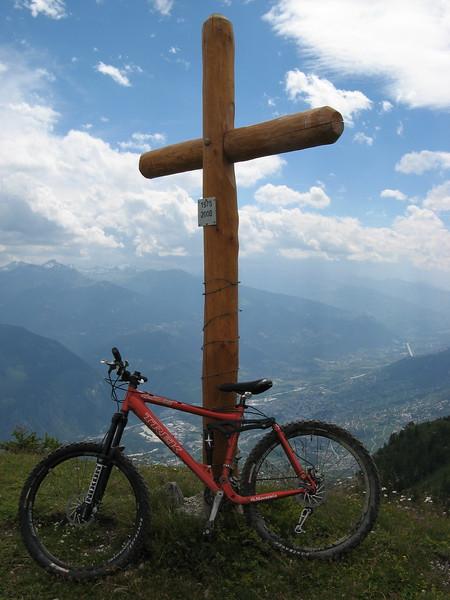 A blessed bike.