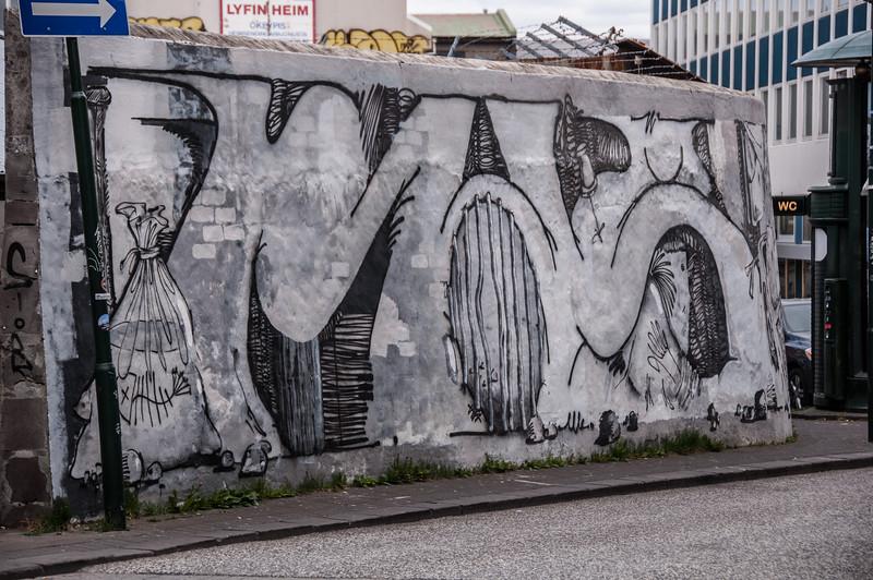 2016.05.19 - Reykjavik, Iceland. Street art.