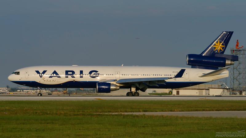 PP-VTK. McDonnell Douglas MD-11. Varig. Miami. 270904.
