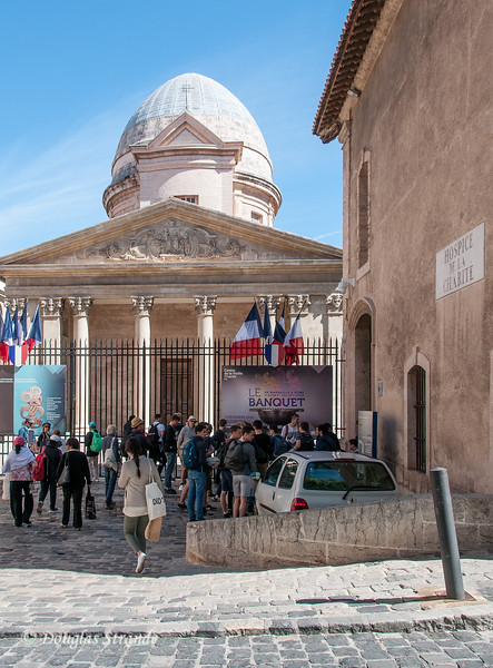 Marseille, France: La Vieille Charité, a former charity shelter now a cultural and arts center