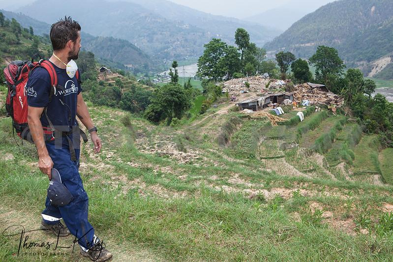 World Vets International Aid  for Animals in Sidhupalchok, Nepal.