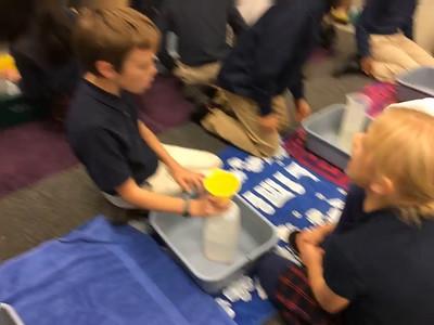 4B Filling Our Aquarium