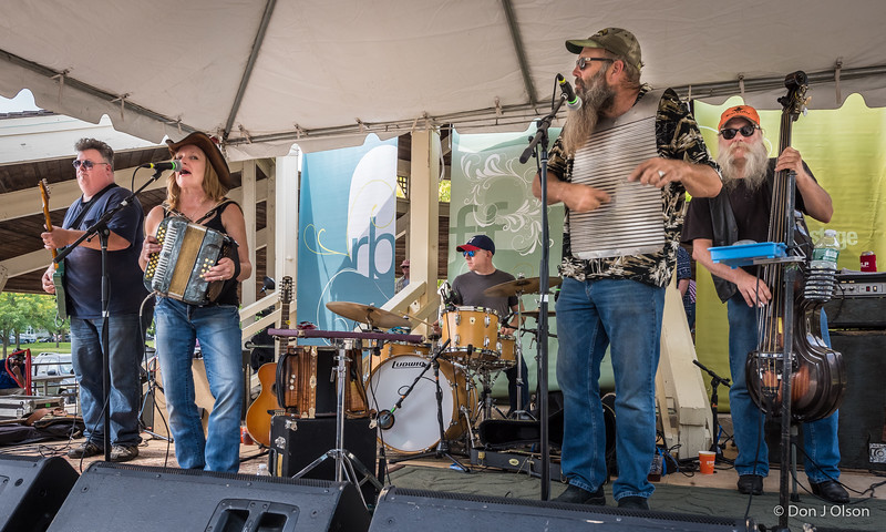 Everett Smithson Band--2017 Rock Bend Folk Festival-St. Peter, MN.