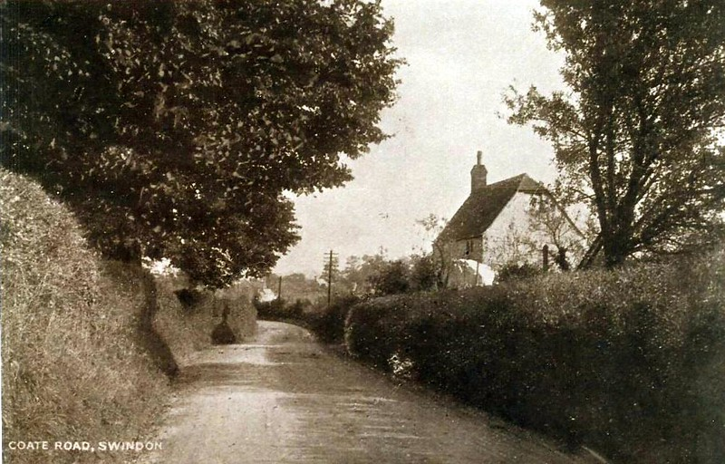 Coate road from Chiseldon 1940`s