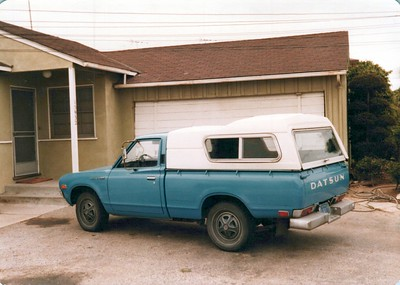1973 Datsun Pick-up and House TP'd