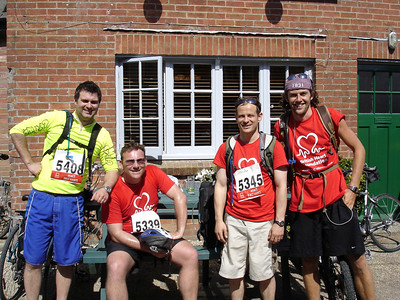 British Heart Foundation 66 Mile Cycle Ride