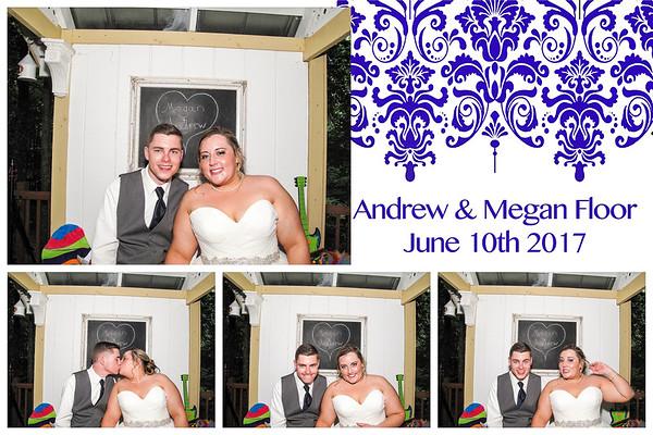Megan & Andrew Wedding Photo Booth
