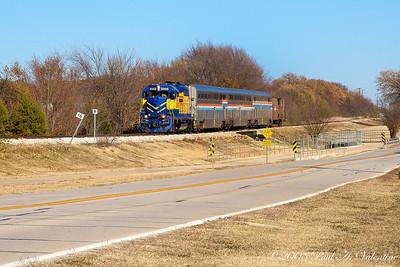 GVRR/FWWR & Amtrak Coach's 12-07-08