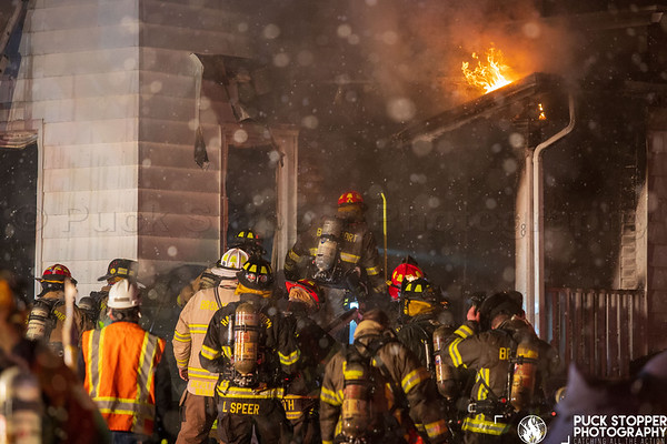 2 Alarm Dwelling Fire - 32 Spring St, Brockport, NY - 1/18/21