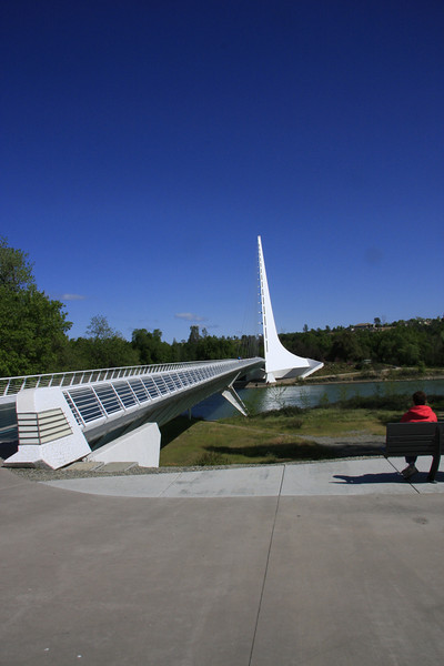 Sundial Bridge Reading CA.