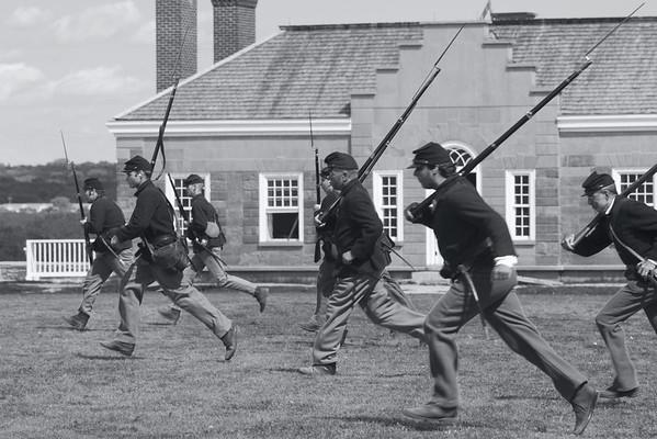 Historic Fort Snelling - Civil War Weekend 2012