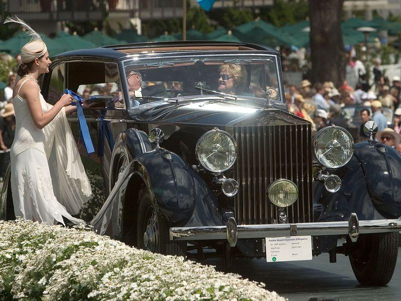 1939 Rolls-Royce Phantom III James Young Saloon Coupe. 1st RR Phantom I, II & III.  Fred Guyton.
