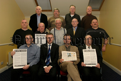 Officers of the Newry Branch Committe of SIPTU at their AGM in the Canal Court, 05W13N60.