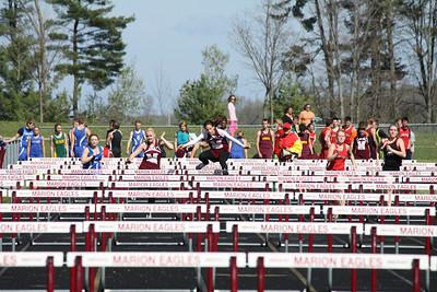 Girl's 100 Hurdles - 2012 Mid Mich Invite