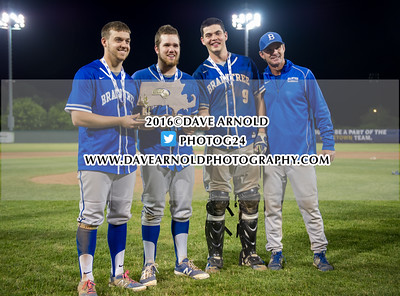 6/19/2016 - MIAA D1A Final - Game 2 - Varsity Baseball - St. John's Prep vs  Braintree