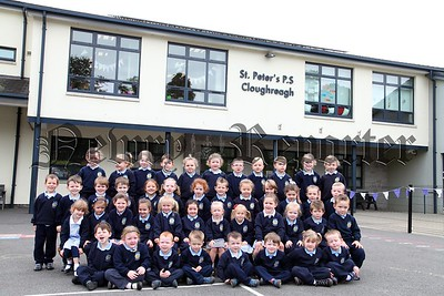 New Primary 1 class at St Peter's PS Cloughreagh. R1539018