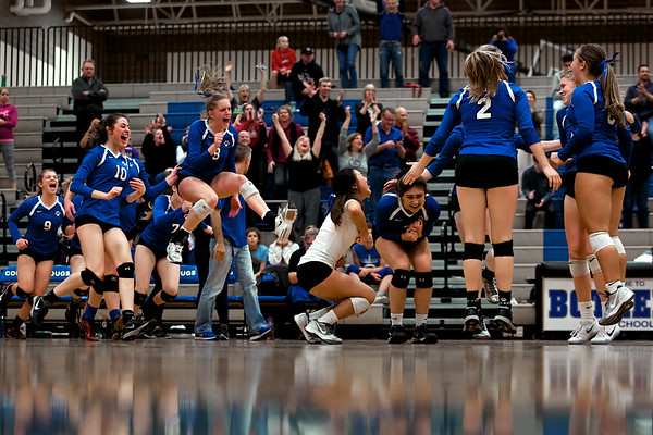 2016 Bothell HS Volleyball - Kingco Playoffs