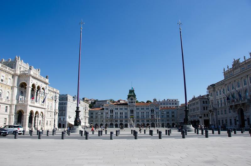 Piazza Unità d'Italia. Trieste