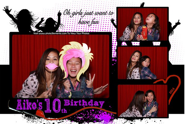 Aiko's 10th Birthday Party