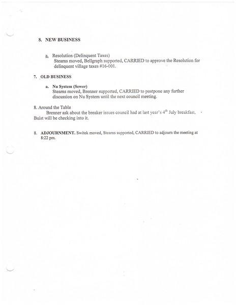 June 2016 Meeting Minutes