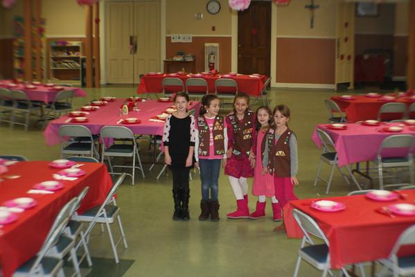 Girl Scout Pasta Dinner