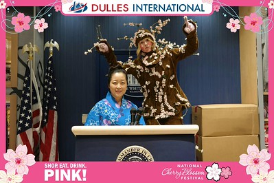Dulles Food and Shops: Cherry Blossoms 2016 - Day 2