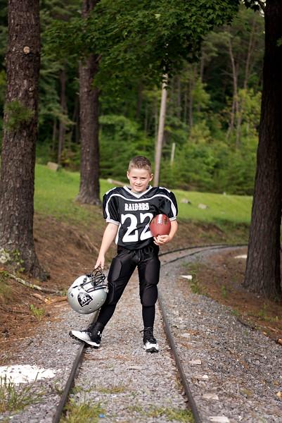 Bryce & Tylar Football 2014